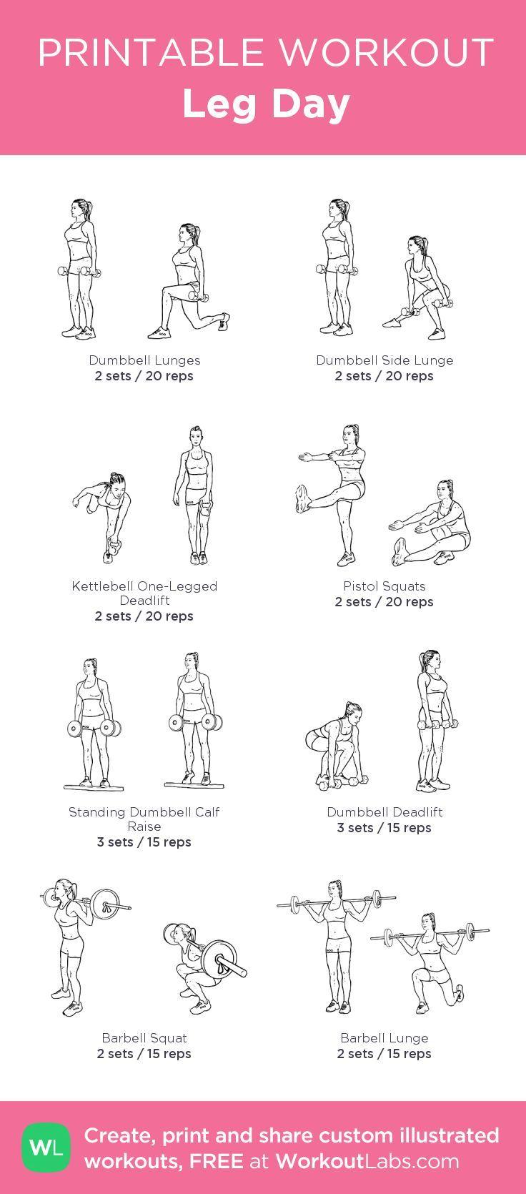 leg day workouts