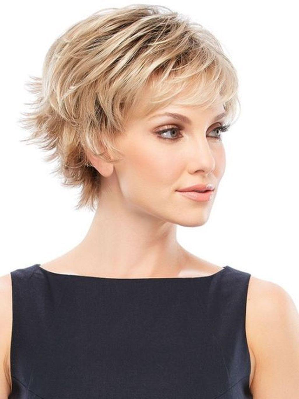 Nice lovely short spiky haircuts women more at