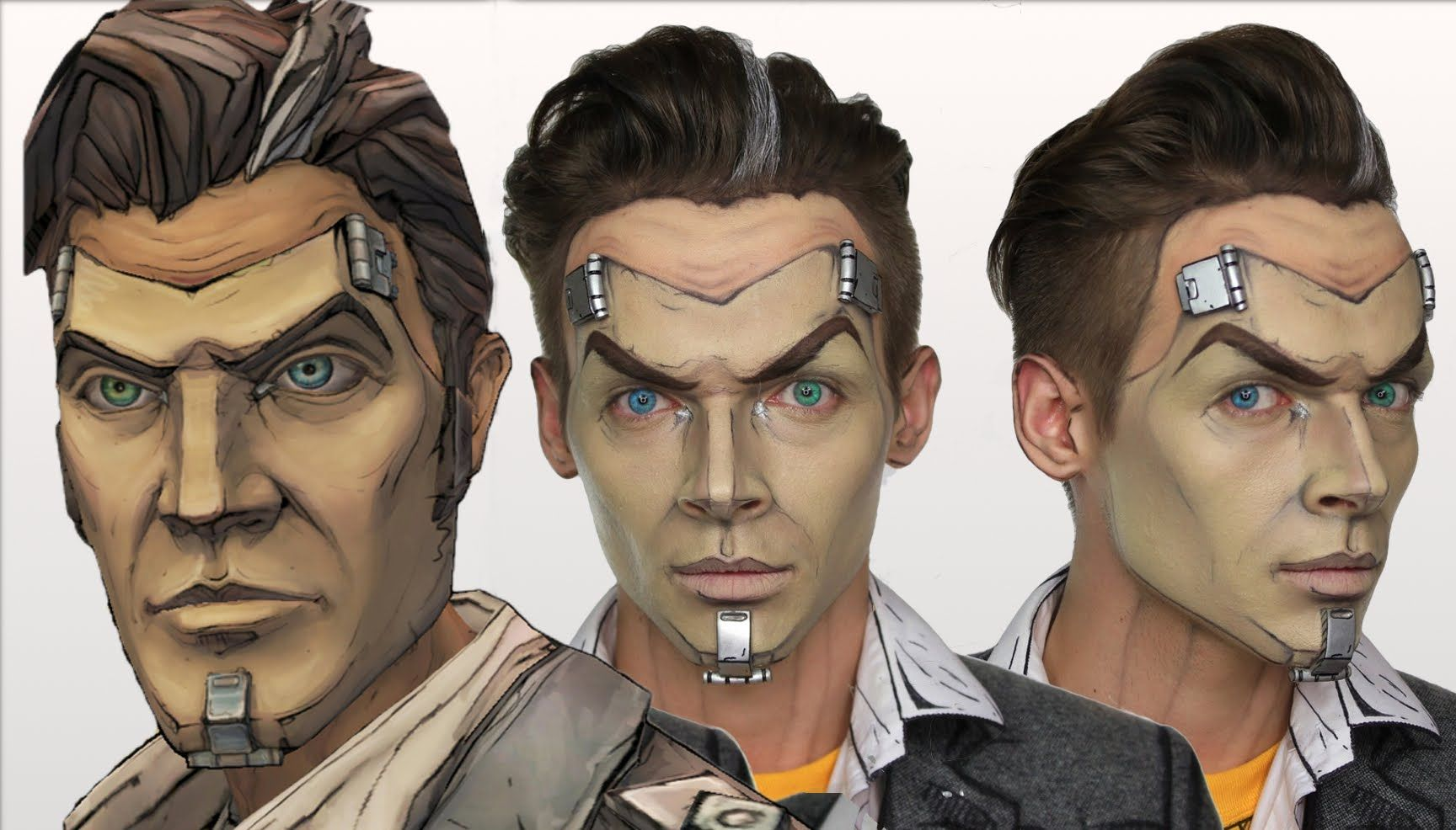 This borderlands make-up is way easier than it looks youtube.