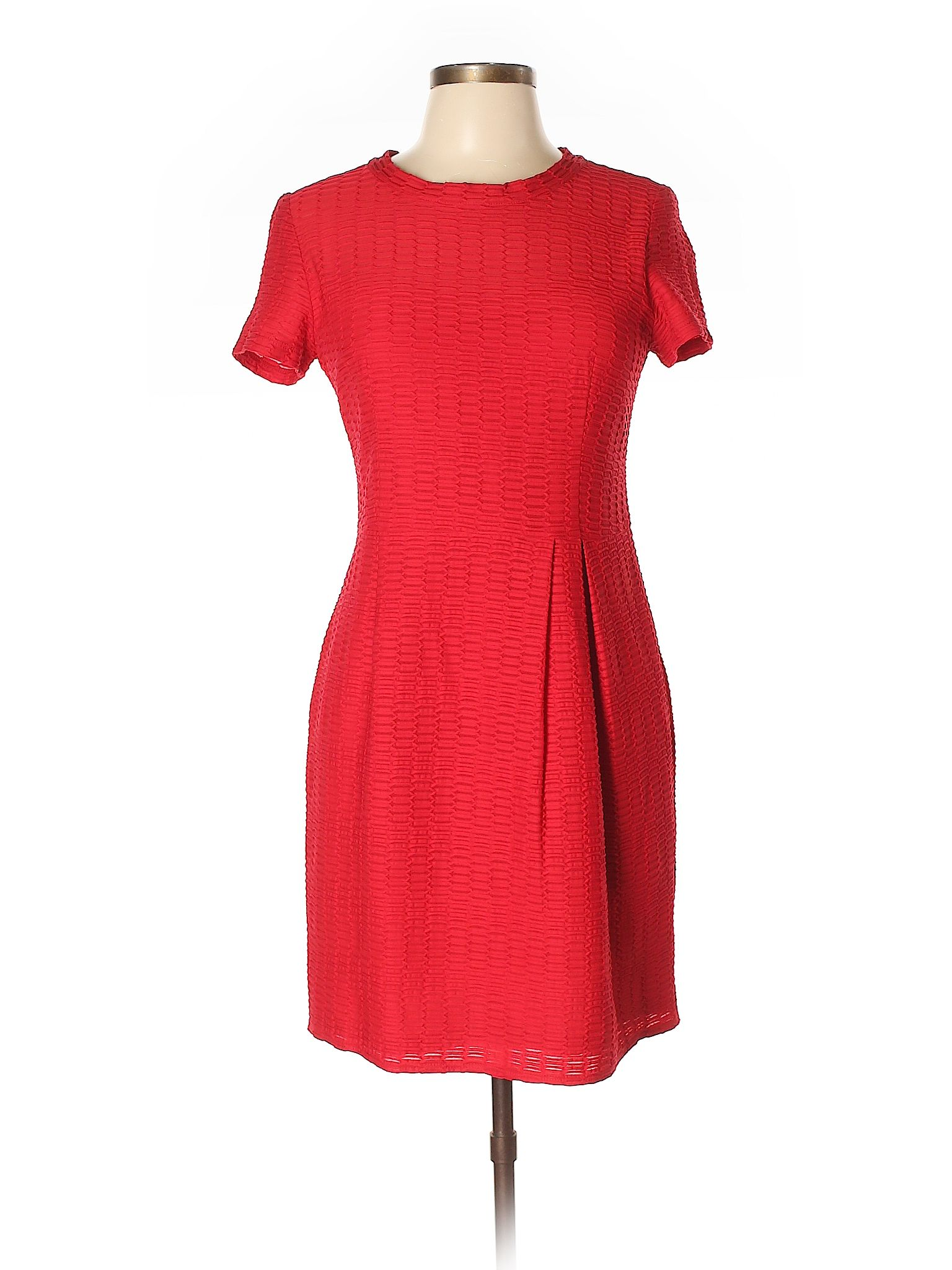909ac4152862 Nanette Lepore Casual Dress: Size 10.00 Red Women's Dresses - $52.99 ...