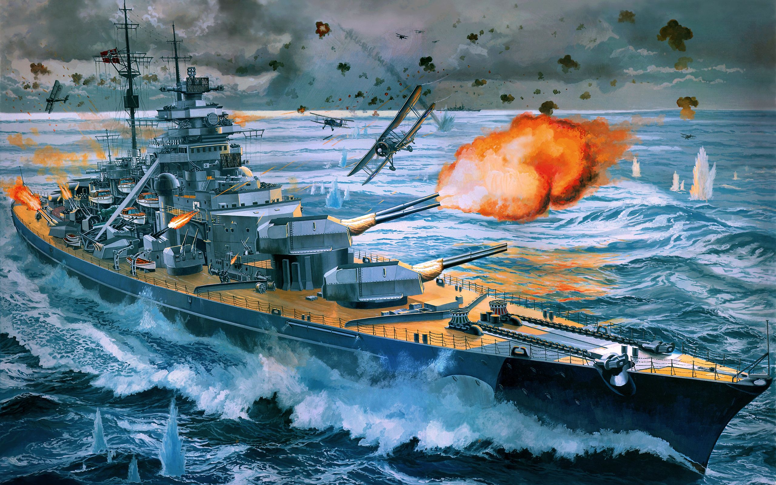 military - german battleship bismarck wallpaper - wallpapersafari