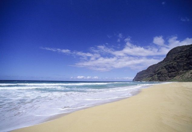 Barking Sand Beach Kauai Hawaii Due
