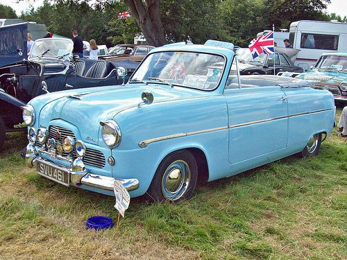 97 Ford Zephyr Mk 1 Convertible 1956 Ford Zephyr Ford