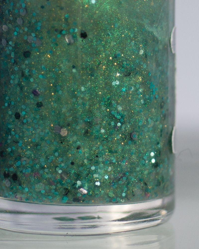 Rainbow Honey - Snake Eyes Glitter Nail Lacquer