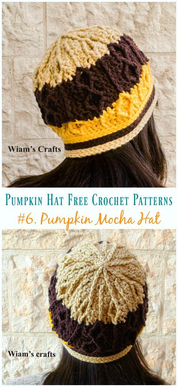 Pumpkin Hat Free Crochet Patterns Perfect For Autumn Harvest