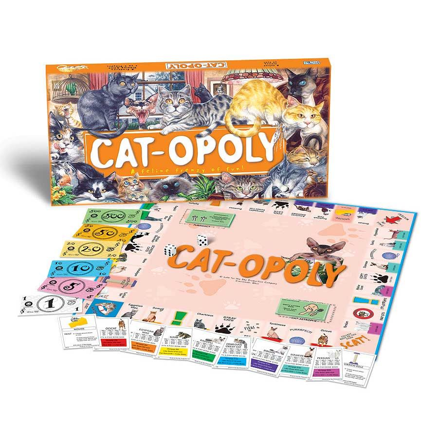 Catopoly Game by Late For The Sky Toys & Games I want