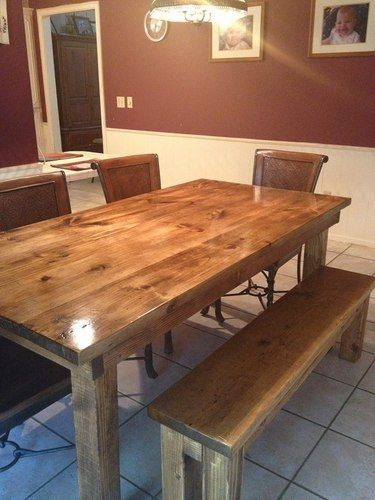 6′ Farmhouse Table