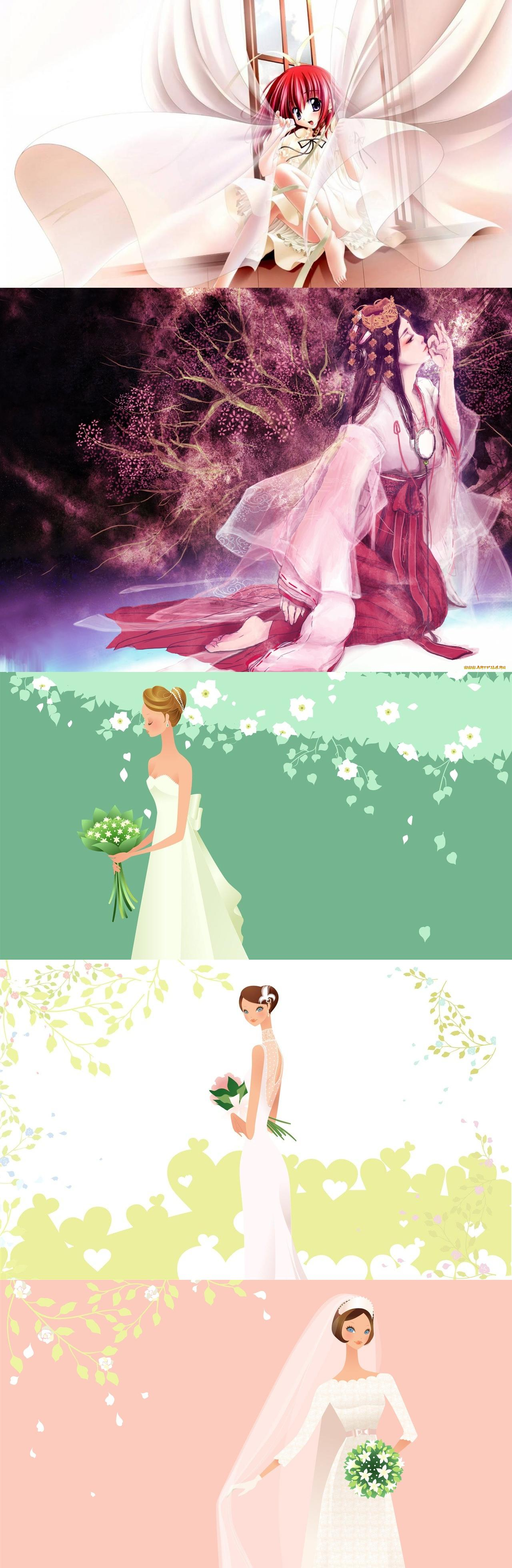 anime wedding dress | anime | Pinterest | Anime wedding