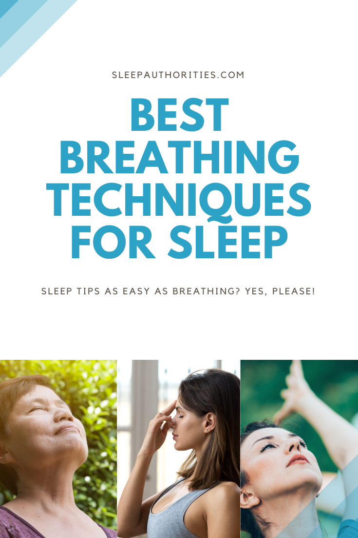 Breathing exercises for sleep health