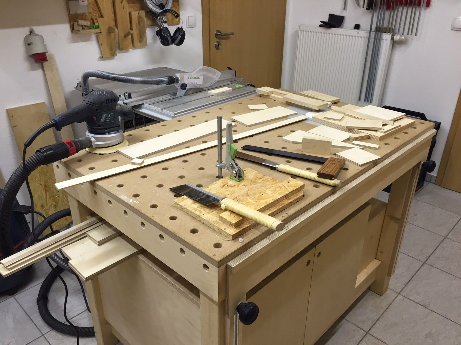 mft style workbench festool pinterest french cleat cleats and wand. Black Bedroom Furniture Sets. Home Design Ideas