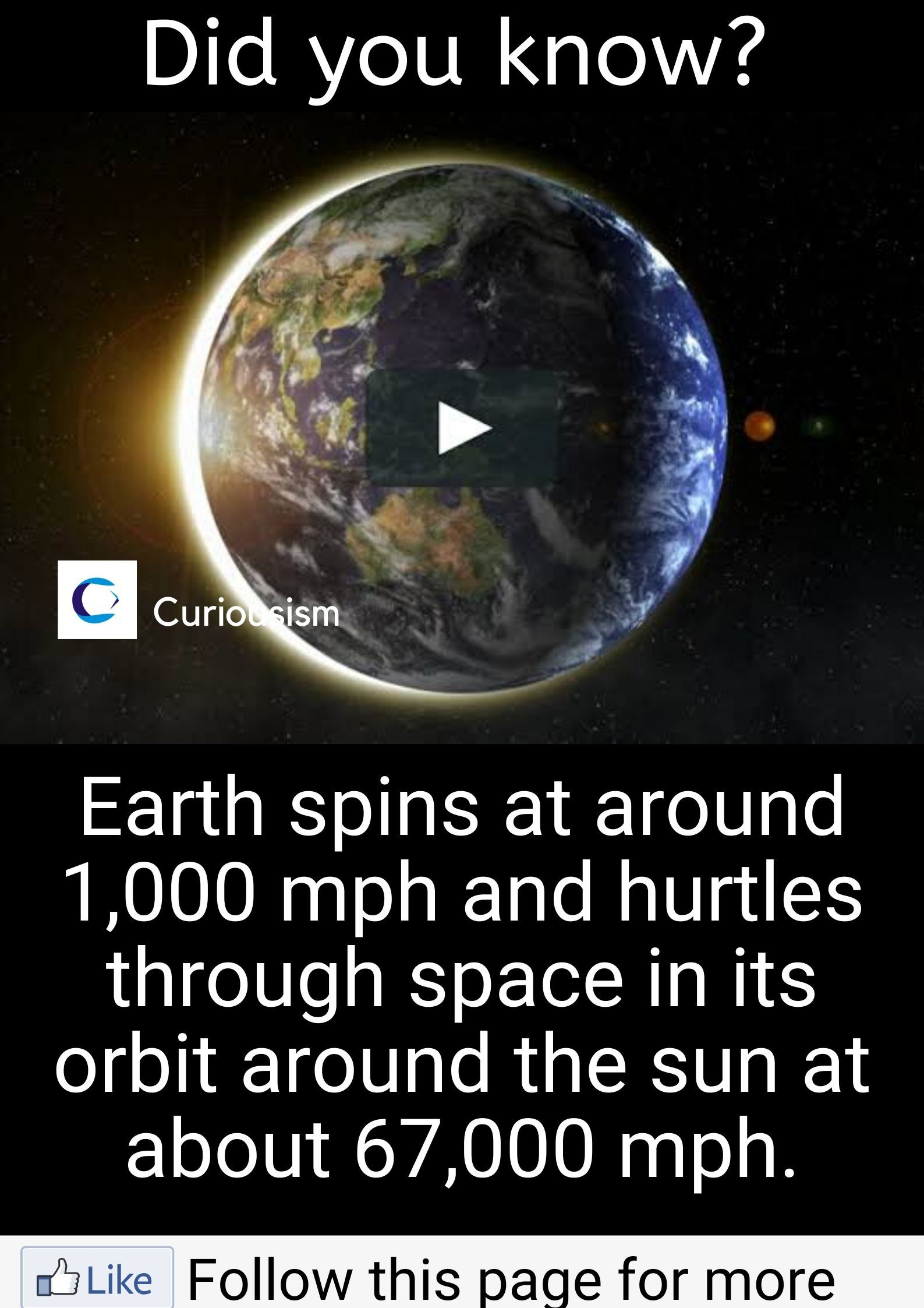 The Speed Of The Earth S Rotation And Revolution Around