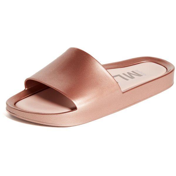 Melissa Beach Slide Sandal Rose - Chaussures Sandale Femme