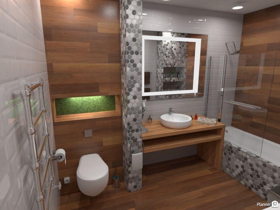 Bathroom interior, Planner 5D | Interior design tools ...