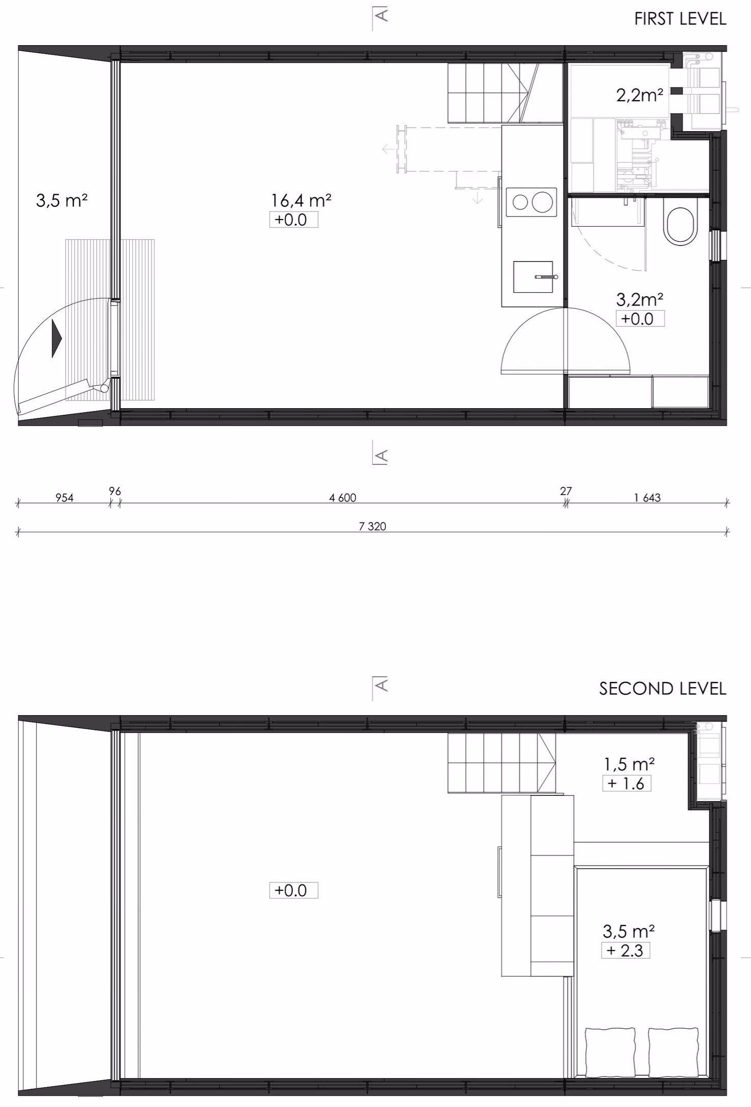KODA - Kodasema - Estonia - Floor Plans - Humble Homes | Tiny ...