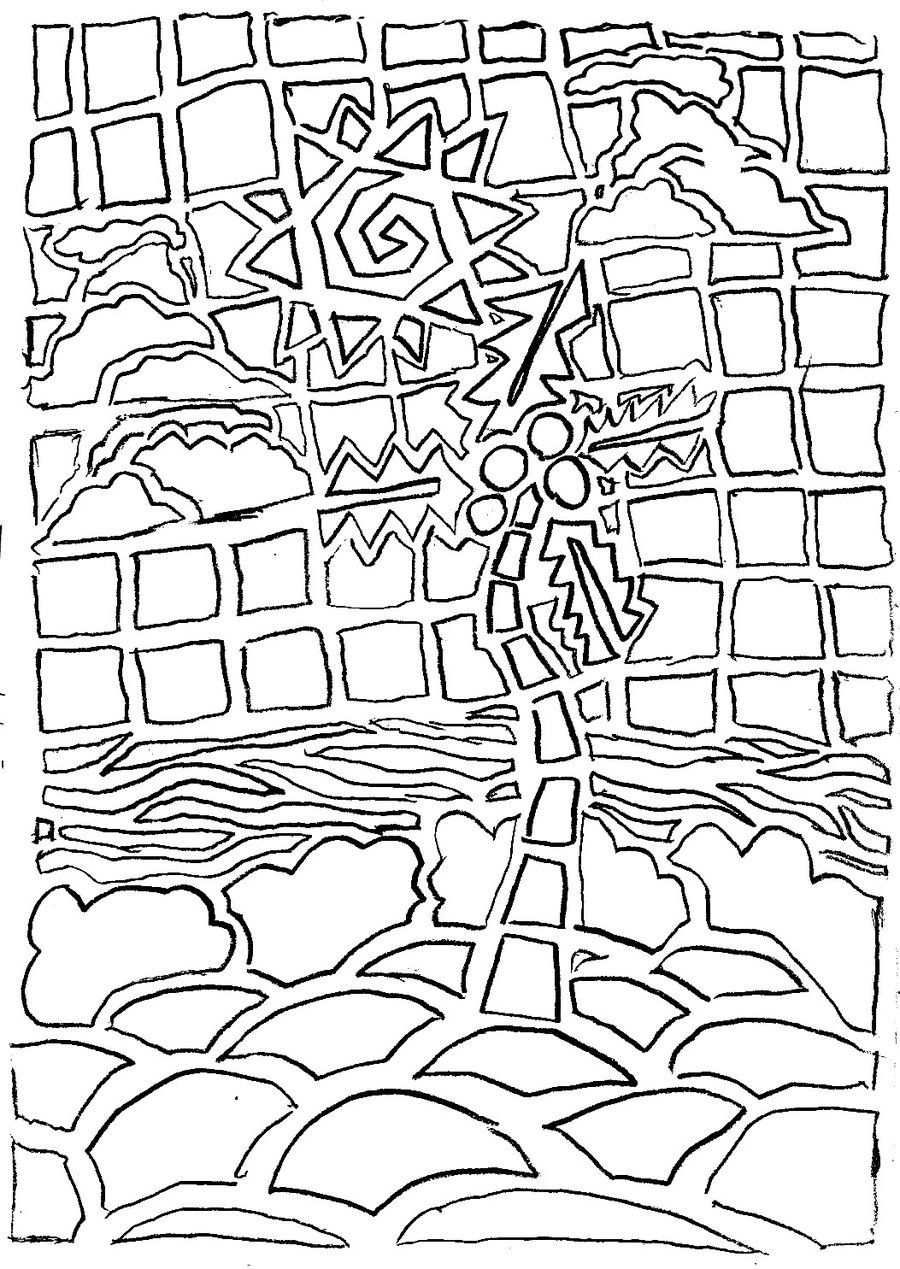 Printable Mosaic Coloring Pages | Printable Coloring Pages | Skin ...