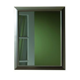Broan Barrington 15 In X 19 Brushed Nickel Metal Surface Mount And Recessed Medicine Cabinet