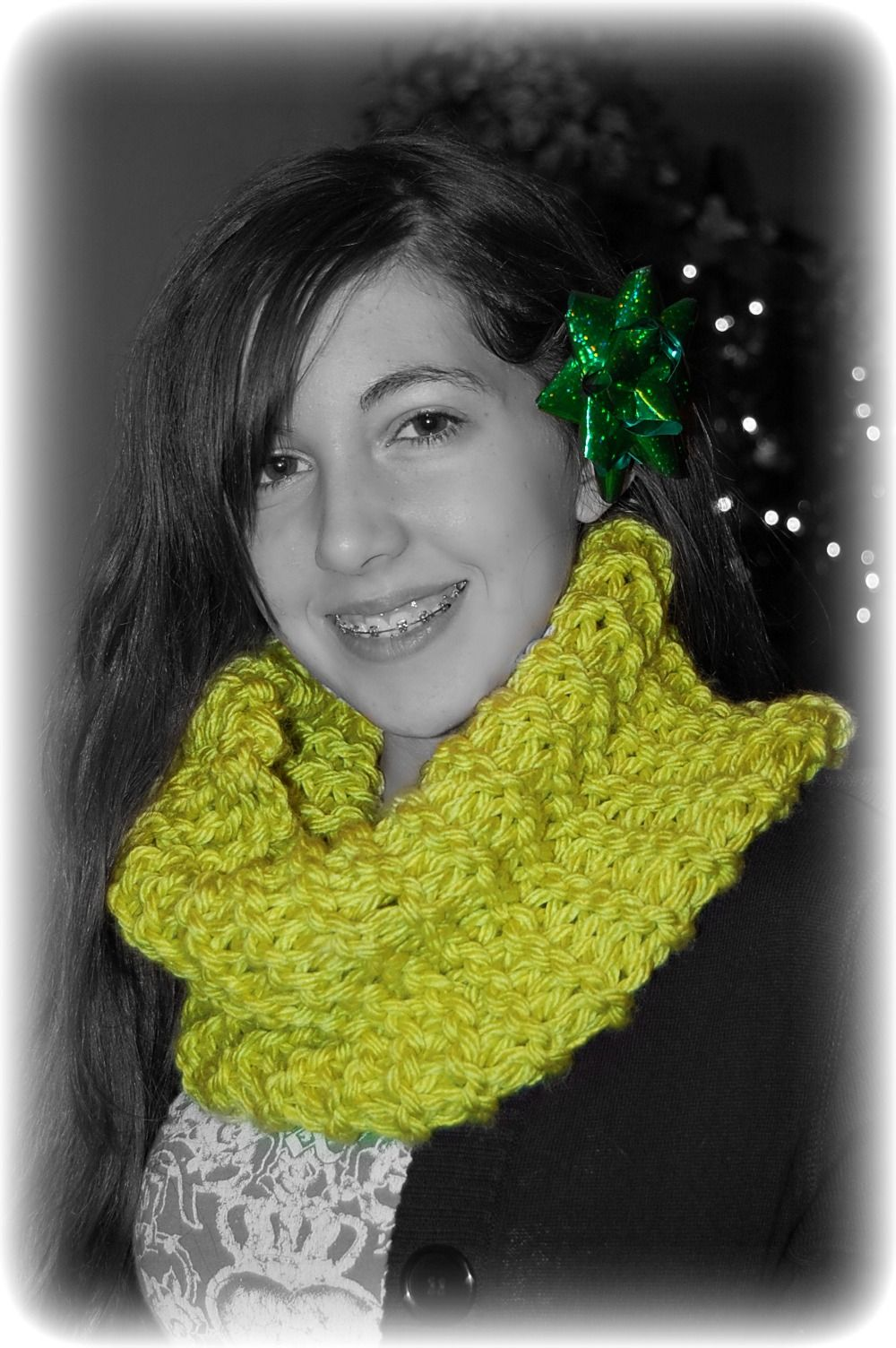 My 2nd knitted cowl