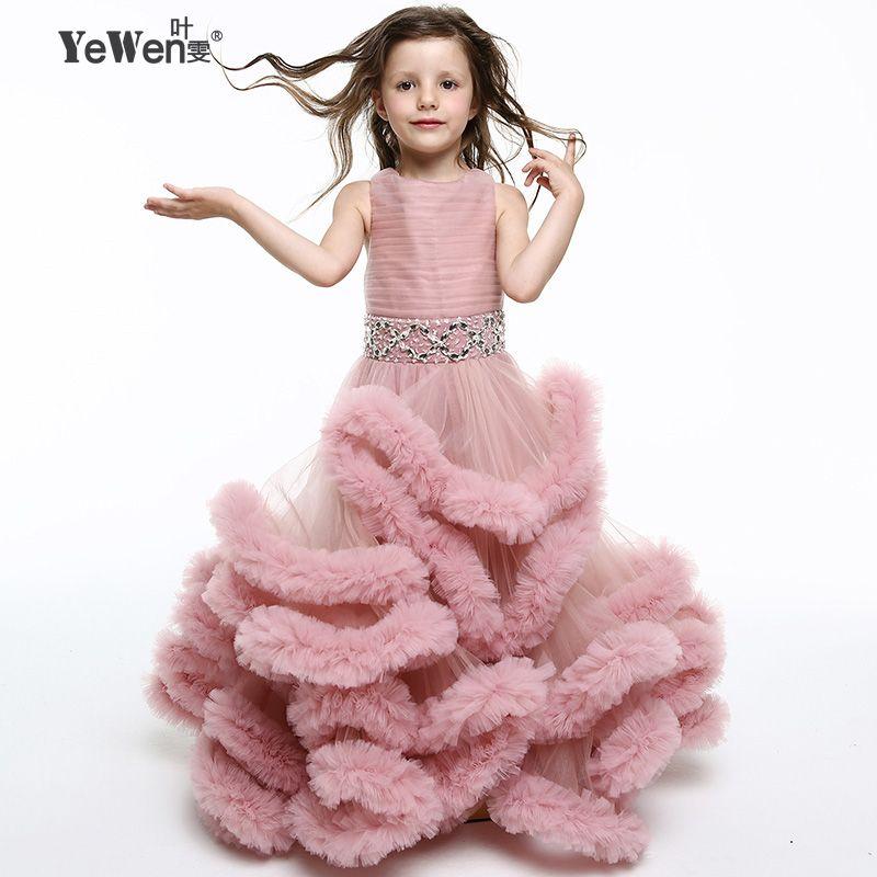 Yewen cloud kleine blume mädchen kleider für hochzeiten ...