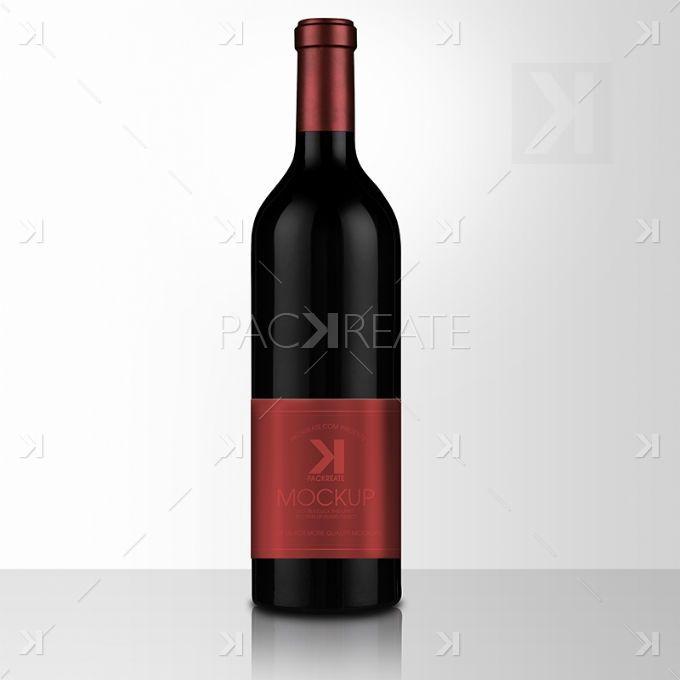 Free Mockup Psd Wine Red Bordeaux 010 680 Free Wine Bottles Wine Bottle Free Wine
