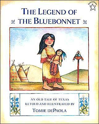The Legend of the Bluebonnet by Tomie dePaola - sweet book.  Also check out Legend of the Poinsettia, and Legend of the Indian Paintbrush.