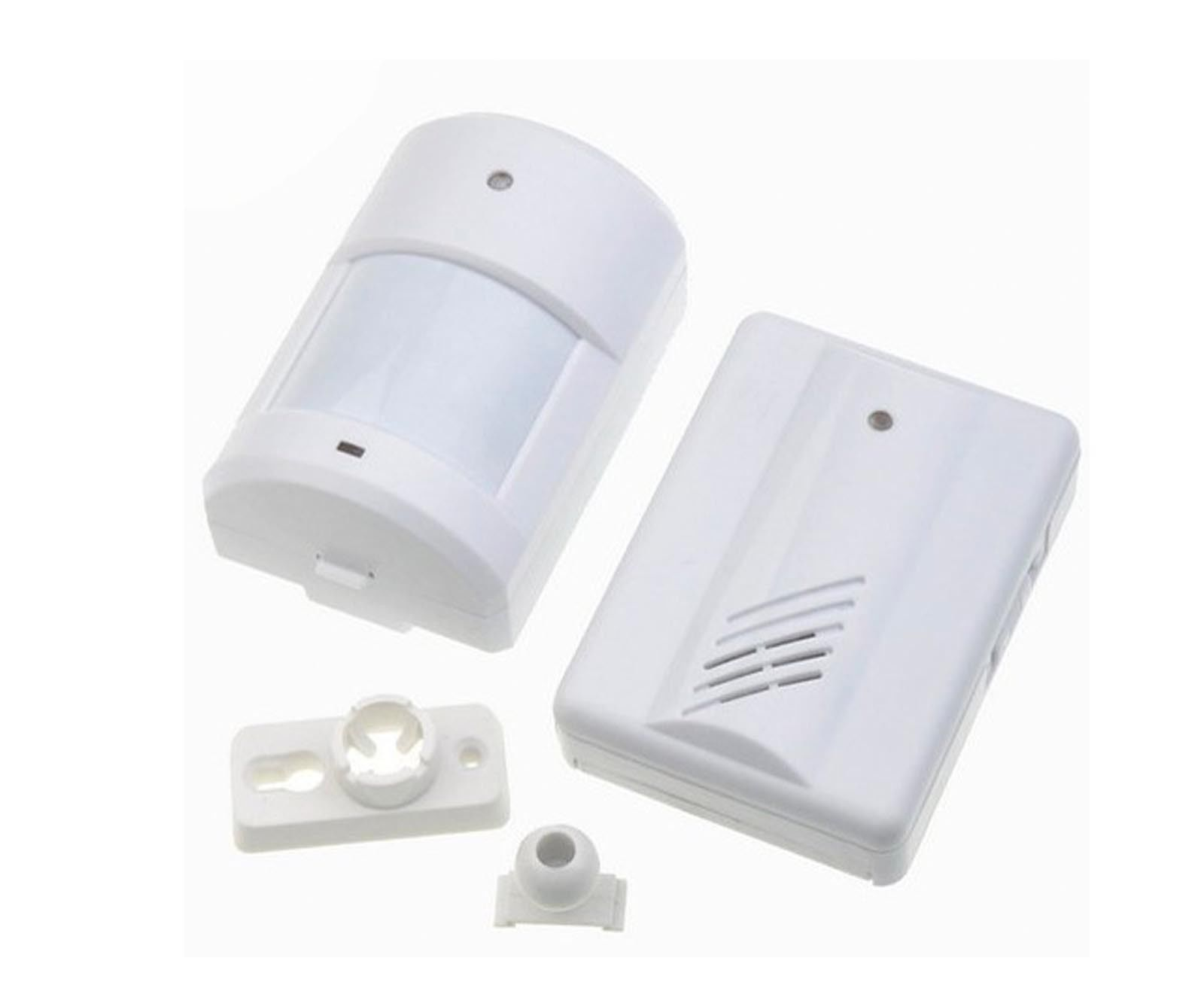 13 94 Aud Driveway Patrol Infrared Wireless Doorbell Alarm System Motion Sensor 400ft Ebay Home Garden