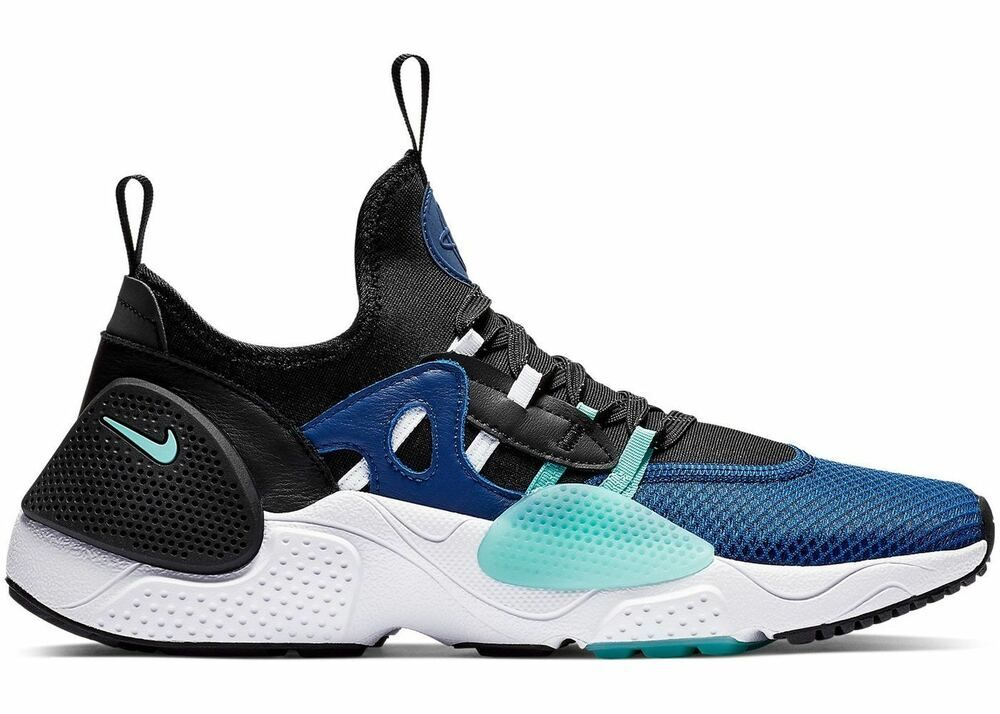 official photos b76aa 5d0b3 Nike Huarache E.D.G.E TXT QS Indigo Force Aurora Green Black ...