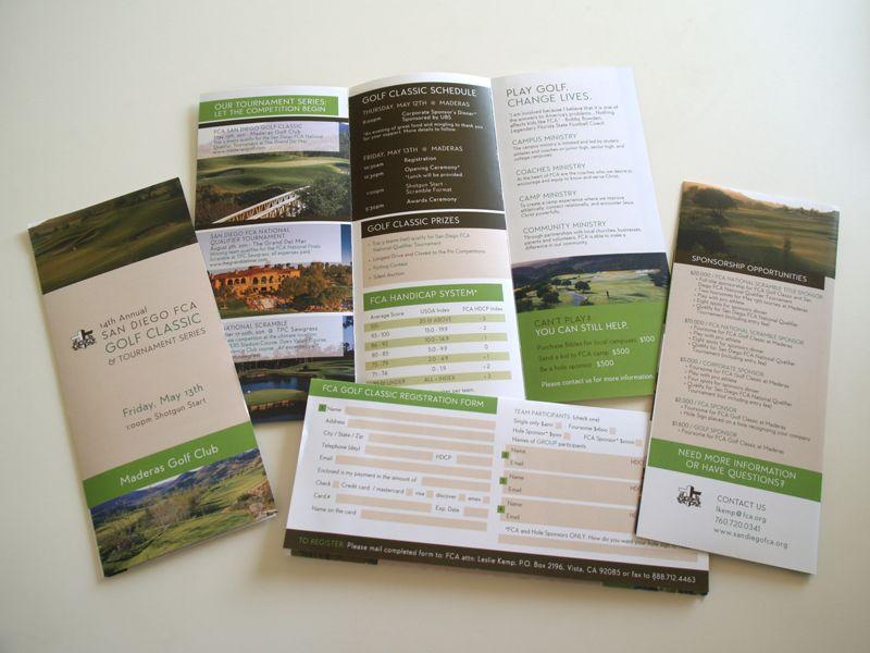 phoebestreetcreative com golf brochure layout design brochure