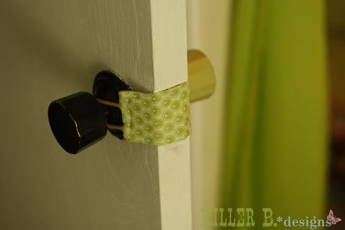 Frugal Pin Of The Day Door Latch Diy Baby Stuff Diy Door