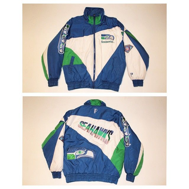 reputable site f87fe f2886 Vintage late? 90s Seattle Seahawks jacket by Pro Player ...