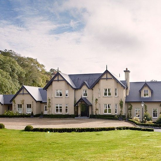 step inside this elegant country home in county kildare house - Home Designers Uk