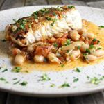 Halibut season is upon us!! Time for Pan Seared Halibut With White Beans And Gremalota.  #forthehalibut #whitebeans #halibut #yummy #healthy #dinner #nomnomnom #tasteandsee   #feedfeed #f52grams #Foodwinewomen #tastespotting #bareaders #foodgawker #food52 #feedyoursoull #beautifulcuisines #eatersanonymous #eatfamous #dailyfoodfeed #cookcl #eater #huffpostgram #huffpostfeed #hufffposttaste #eeeeeats #buzzfeast #foodbeast #instayum #foodblogger