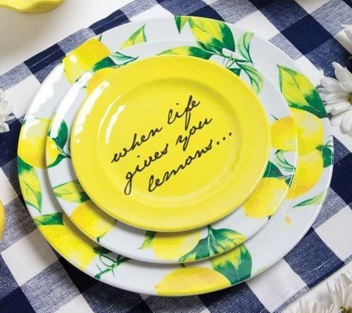 Yellow Kitchen Theme: Pin By Jeannetta Wallace On Citrus Themed Kitchen In 2019