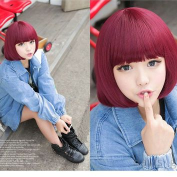 bob wig  wigs japanese hairstyle