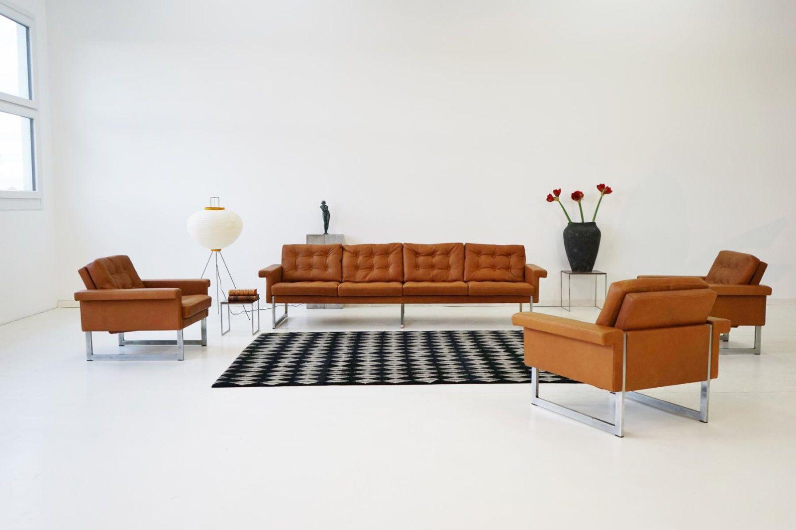 Wunderschön Sofa Und Sessel Galerie Von 4-sitzer Chair Lounge Daybed Canapél Leder Leather