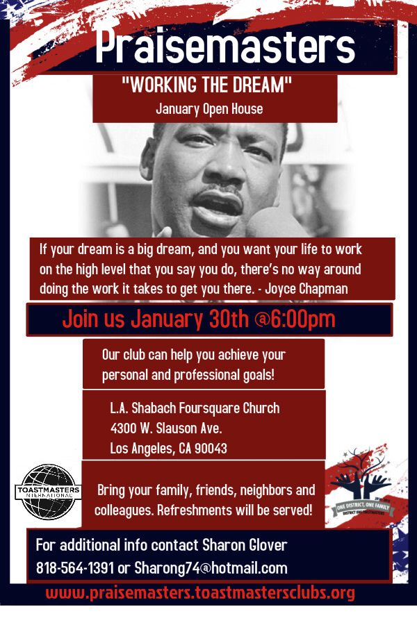 You Re Invited Please Join Us Tomorrow Night For This Special Event Youre Invited Event Dream Big