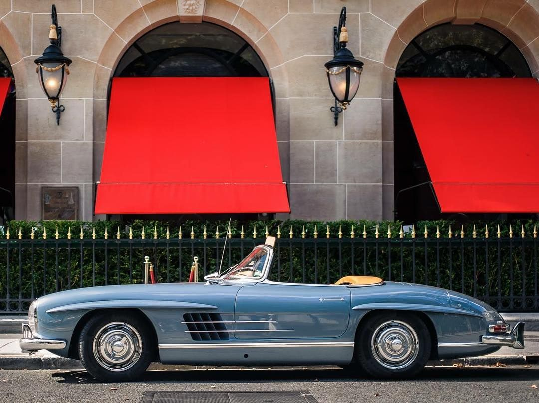 Stunning Mercedes Benz #300SL #Roadster. Photo © Kevin Gordon / #300SLRestorations #BruceAdams190SL