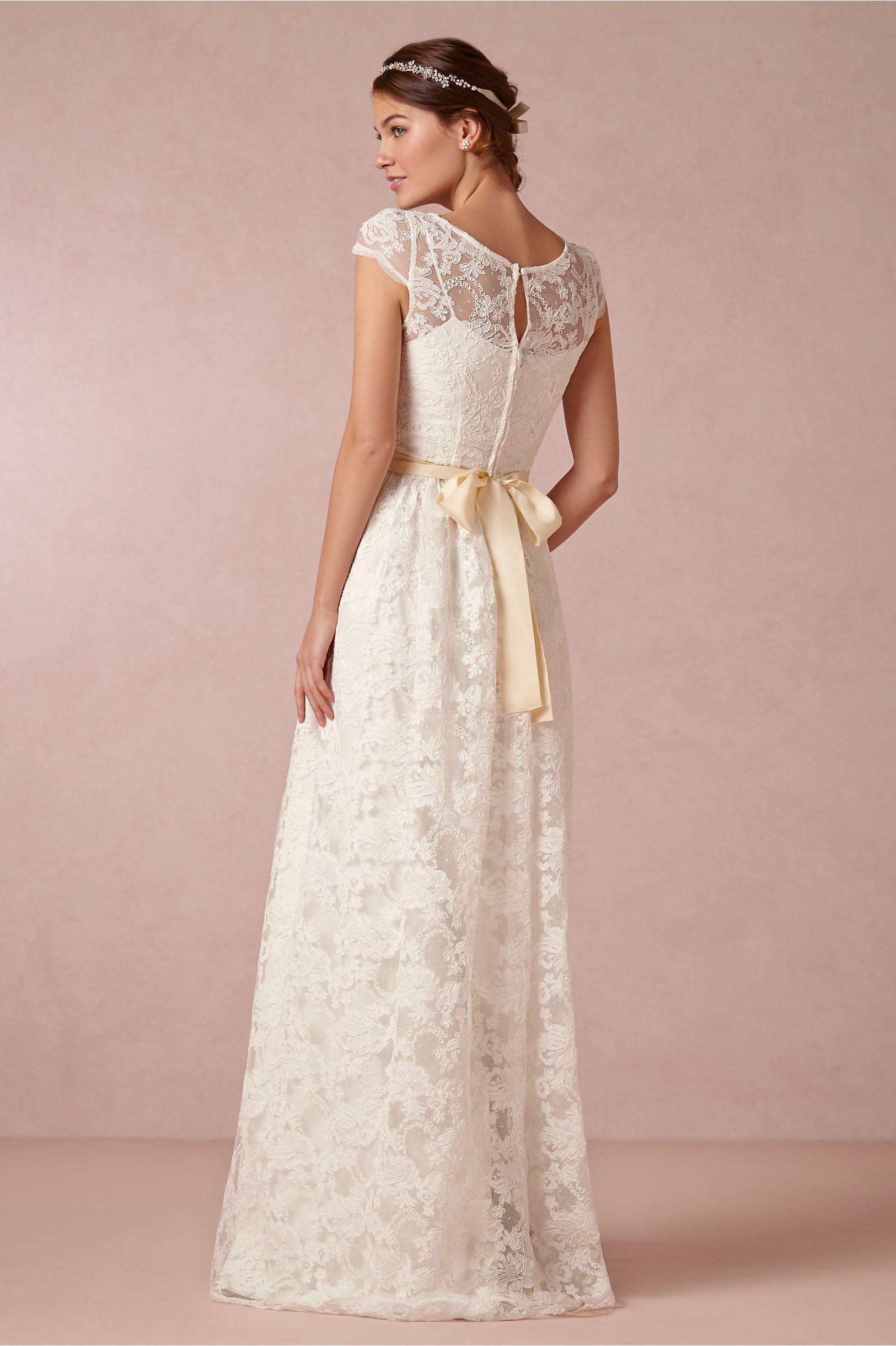 Ellie Gown in Bride Wedding Dresses at BHLDN | Vestidos | Pinterest ...