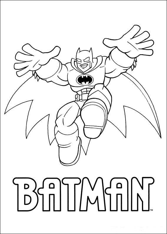 Dibujos para Colorear Super Amigos 5 | Dibujos para colorear para ...