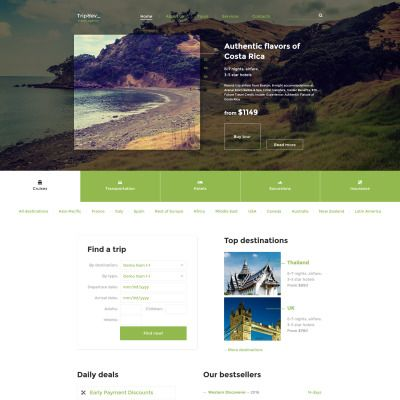 Ice Travel Travel Agency Multipage Classic Html5 Website Template Travel Agency Website Travel Agency Travel