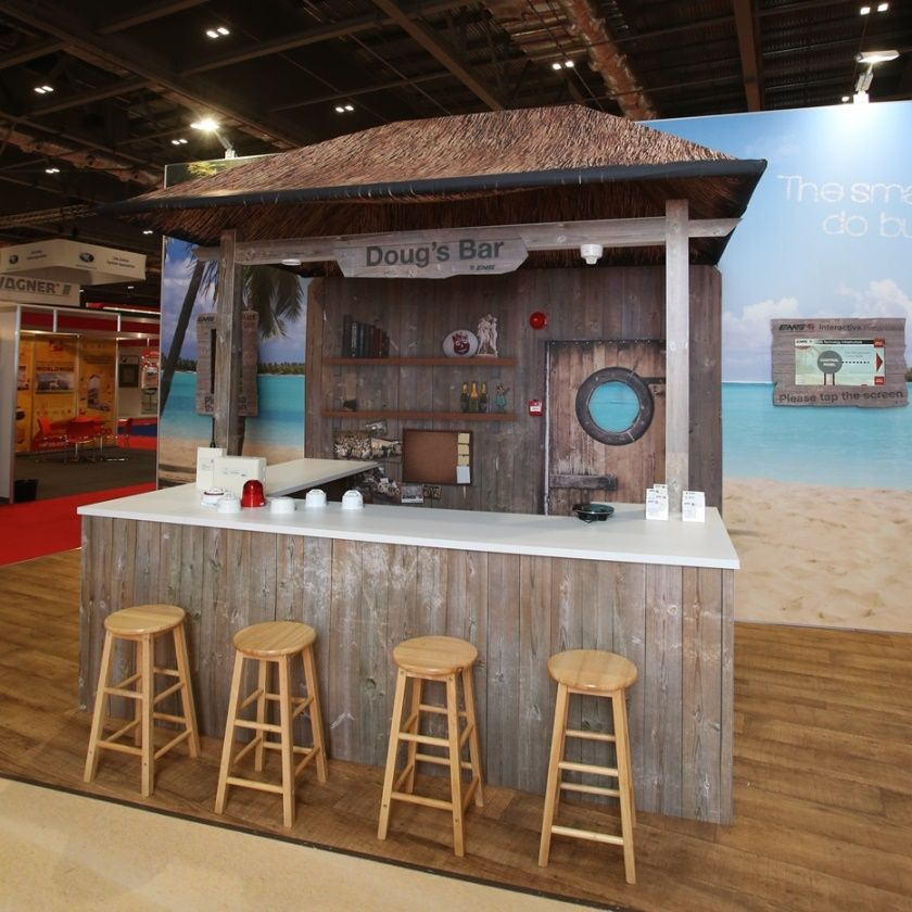 Exhibition Stand Themes : Ems beach themed stand loyang in 2019 stand design ice cream