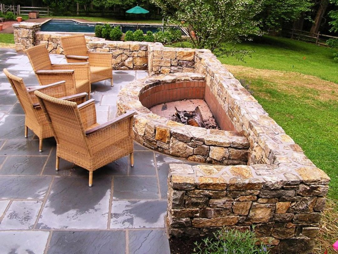 15 Awesome Fire Pit Design Ideas To Warm Your Backyard Design Decorating Outdoor Fire Pit Designs Backyard Fire Outdoor Fire Pit