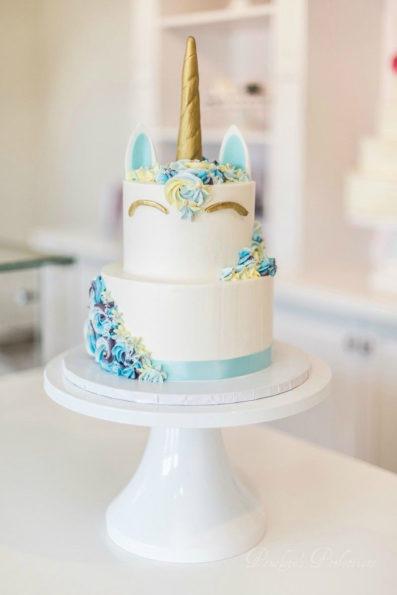 Unicorn cake for a baby boy (With images) | Special event ...
