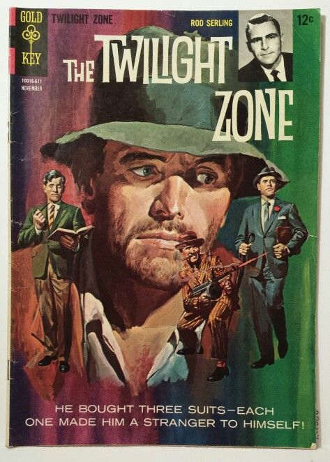 Old Book Cover Zone : Vintage comics the twilight zone comic and