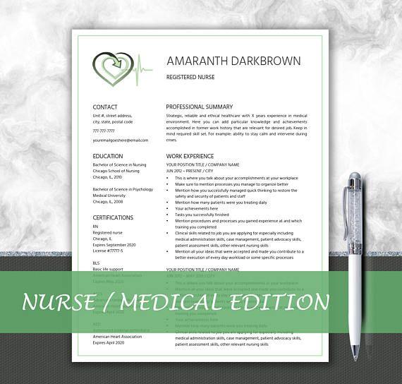 Medical Resume  Doctor Cv  Nurse Resume  Writing Tips  Cover