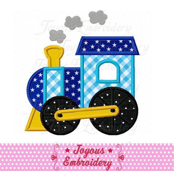 Instant Download Train Applique Machine Embroidery Design No1923 In
