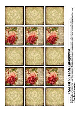 Free Digital Collage Sheet!
