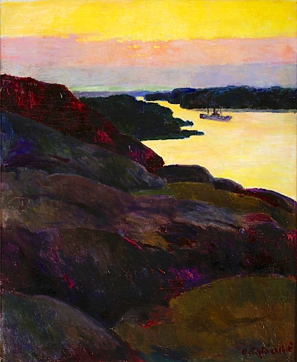 Arthur Bianchini - The inlet of Stockholm