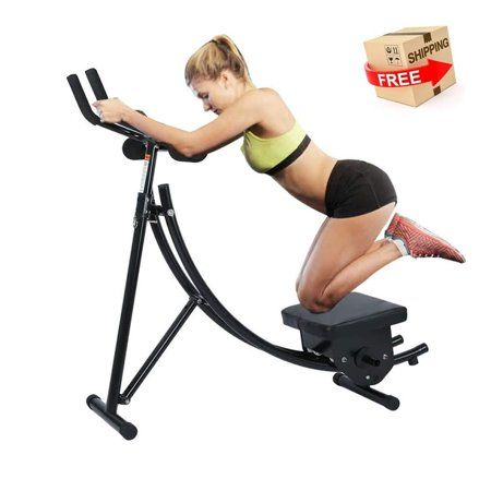 Ab Exercise Mahine Abdominal Coaster Abdomen Abdominal Crunch Machine With Lcd Monitor Ab Tr Workout Machines No Equipment Workout