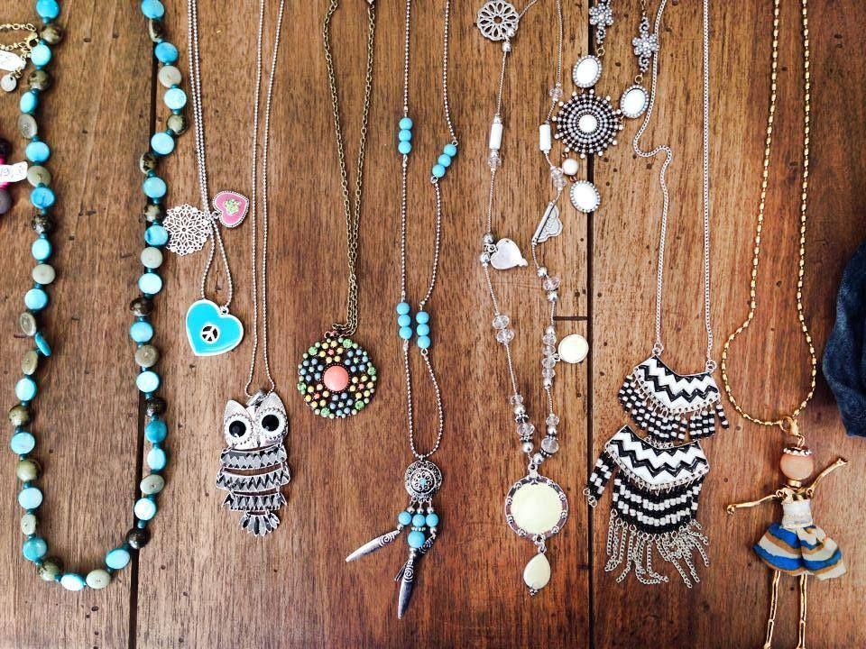 Sautoirs turquoise, quoi de plus en vogue? Venez vite découvrir la collection chez @Rosalie-Shop !