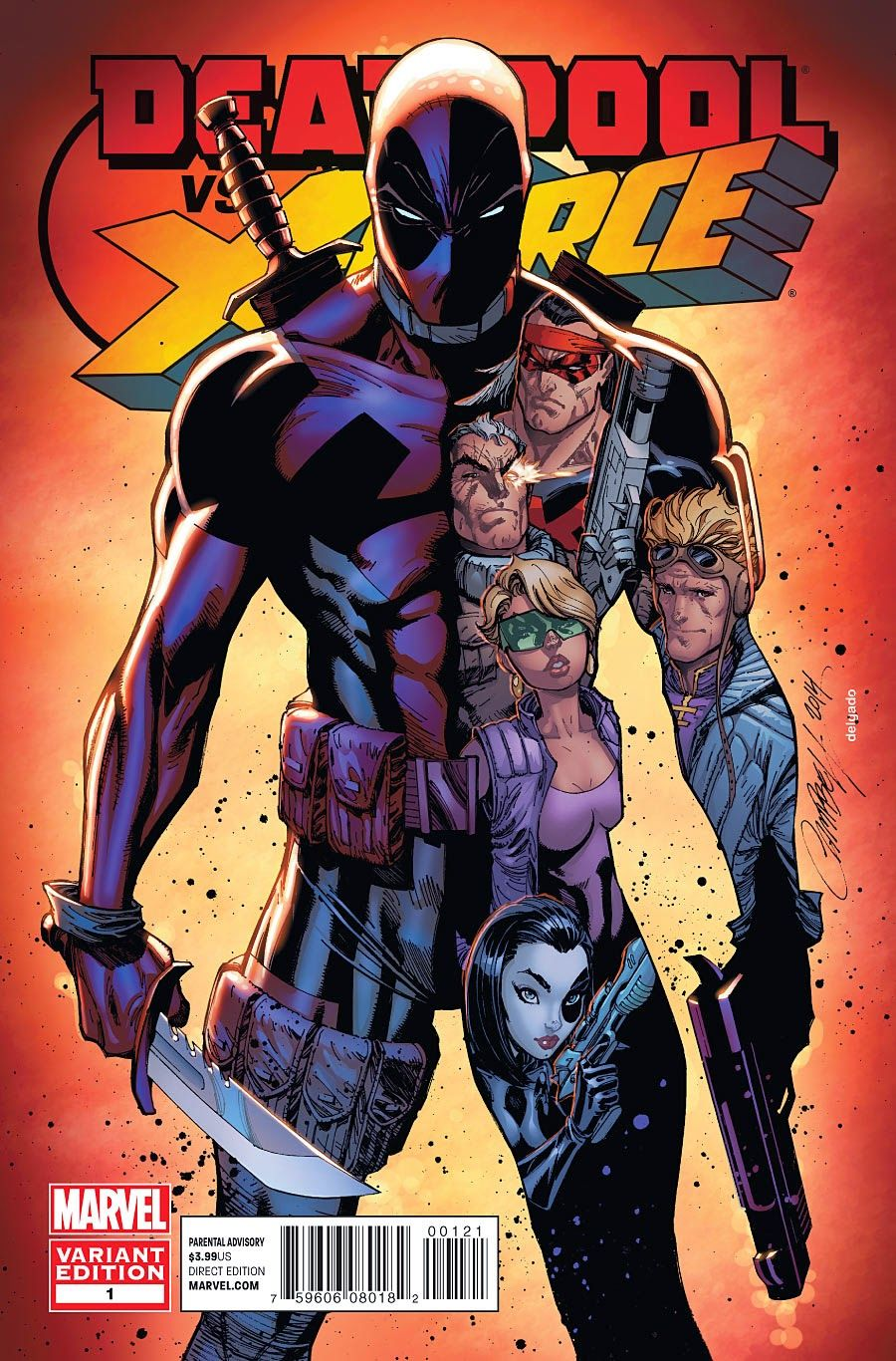 Deadpool vs the X-Force | Vercomics